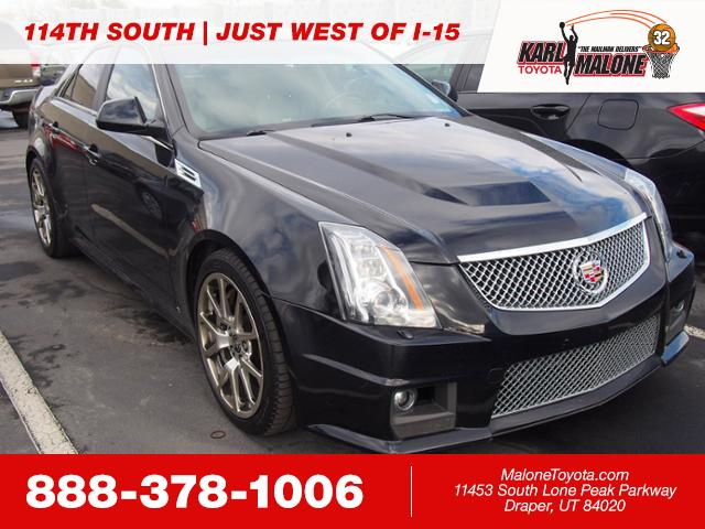 Pre Owned 2009 Cadillac Cts V Sedan In Sandy K19778a Karl Malone