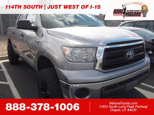 Pre Owned 2010 Toyota Tundra 4wd Truck Crew Cab Pickup In Sandy