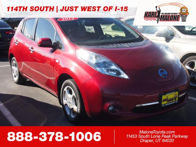 Pre Owned 2012 Nissan Leaf Sl 4dr Car In Sandy 54662b Karl Malone